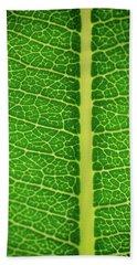 Leafy Detail Bath Towel