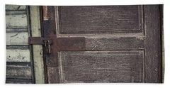 Leather Door Hand Towel