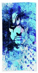 Legendary Alice Cooper Watercolor Bath Towel