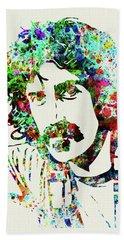 Legendary Frank Zappa Watercolor Hand Towel