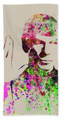 Legendary Spock Watercolor Bath Towel