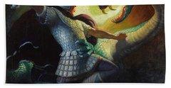 Legends Of Charlemagne Bath Towel
