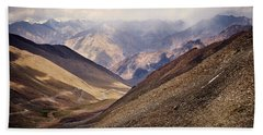 Hand Towel featuring the photograph Leh-manali Mountains by Whitney Goodey