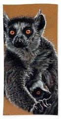Lemurs Bath Towel