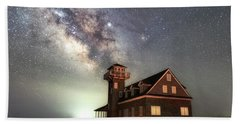 Bath Towel featuring the photograph Life Under The Stars by Russell Pugh
