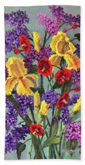 Lilac Days Hand Towel