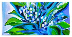 Lily Of The Valley Hand Towel