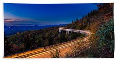 Linn Cove Viaduct - Blue Ridge Parkway Bath Towel