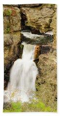 Linville Falls - Closeup Bath Towel