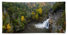 Linville Falls - Linville Gorge Bath Towel