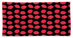 Lips Bath Towel