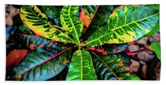 Liquid Tropical Colors Hand Towel