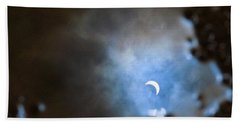 Liquified Solar Eclipse Hand Towel