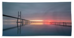 Bath Towel featuring the photograph Lisbon.. Finally by Bruno Rosa