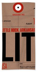 Lit Little Rock Luggage Tag I Hand Towel
