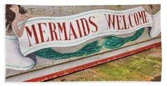 Little Mermaids Hand Towel