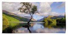 Llyn Padarn, Snowdonia Bath Towel