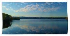 Loch Raven Reservoir Bridge Bath Towel