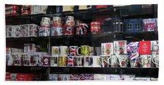 London England Shop Window Bath Towel