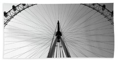 London_eye_i Bath Towel
