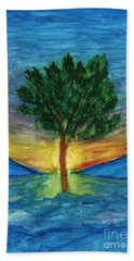 Lonely Pine Hand Towel