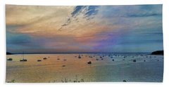Long Island Sound From Glen Cove Bath Towel