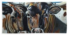 Longhorns, Interrupted Bath Towel