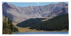 Longs Peak Colorado Hand Towel