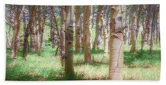 Lost In The Woods - Kenosha Pass, Colorado Hand Towel