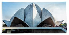 Lotus Temple Bath Towel