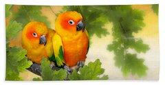 Love Birds Hand Towel