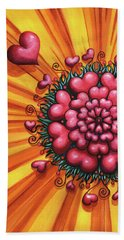 Love Blossom Bath Towel
