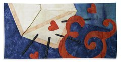 Love Letter Hand Towel