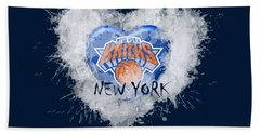 lOVE nEW yORK kICKS Bath Towel