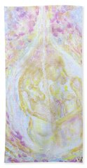 Love - Oil On Canvas Painting Hand Towel