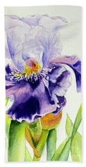 Lovely Iris Hand Towel