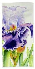Lovely Iris Hand Towel