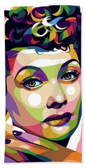 Lucille Ball Bath Towel