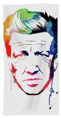 Lynch Watercolor Hand Towel