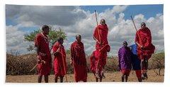 Maasai Adumu Bath Towel