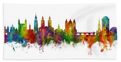 Maastricht The Netherlands Skyline Hand Towel