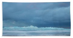 Mackinaw City Ice Formations 21618011 Bath Towel