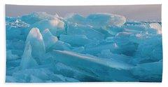 Mackinaw City Ice Formations 2161807 Bath Towel