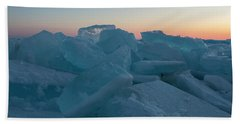 Mackinaw City Ice Formations 2161808 Bath Towel