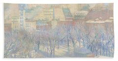 Madison Square, Snow, 1904  Hand Towel