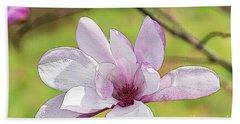 Magnolia Bloom Painterly Bath Towel