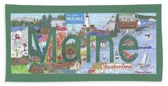 Maine Hand Towel