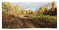 Maine Wilderness Color Hand Towel