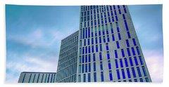 Malmo Live Building Blocks Blue Hour Bath Towel