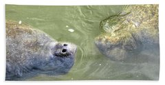Manatee Love Bath Towel